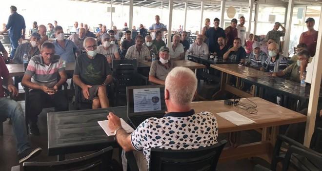 Bostanlı ve Mavişehirli balıkçılara eğitim...