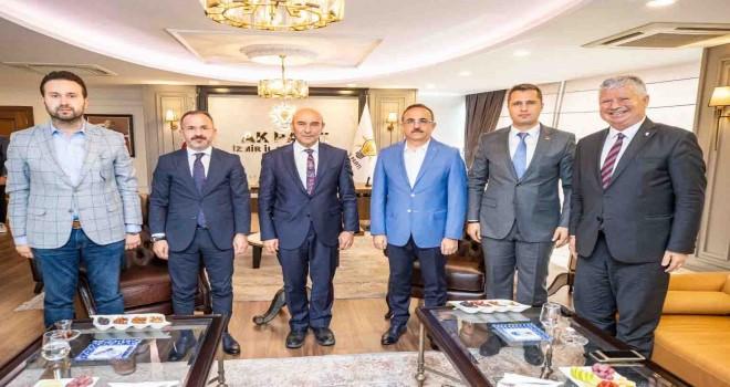 Başkan Soyer, Ak Parti'li Sürekli'yi ziyaret etti