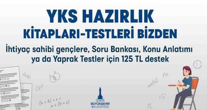 İzmir Büyükşehir'den üniversiteye hazırlanan gençlere destek