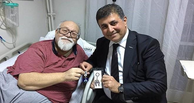 Başkan Tugay, Sancar Maruflu'yu ziyaret etti