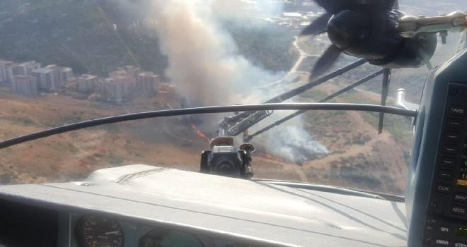 Karşıyaka'da ormanı yakanlar kameralara yakalandı