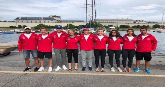 KSK'li Milli Yelkenciler İspanya ve Kanada'da yarışıyor