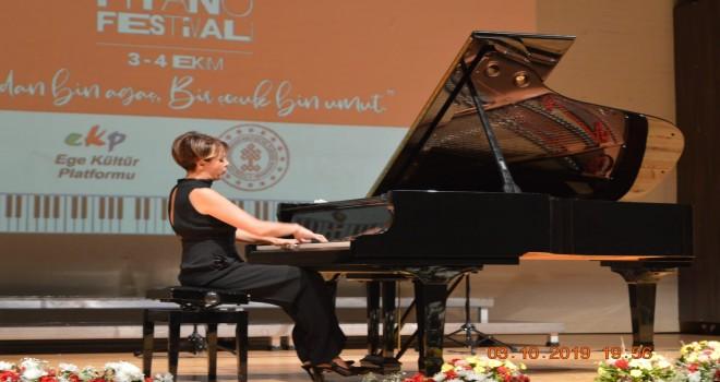 1. Uluslararası İzmir Piyano Festivali umuda dokundu