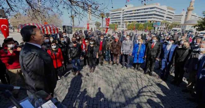 Tarihi Çınar'ın altında 100. yıla özel tören