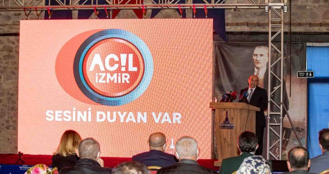 Acil İzmir mobil uygulaması hizmete girdi