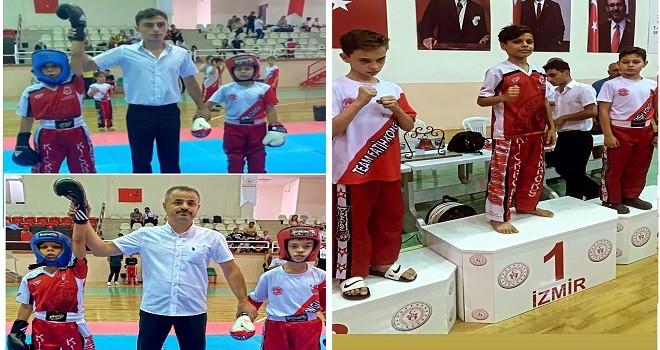 Karşıyakalı Bartu Miniklerde Ege Bölge Şampiyonu