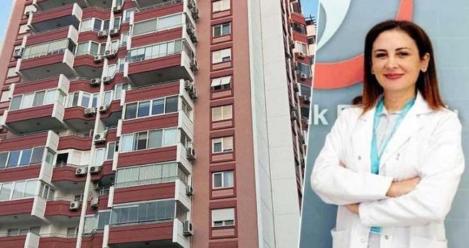 Karşıyaka'da 12.kattan düşen doktor hayatını kaybetti