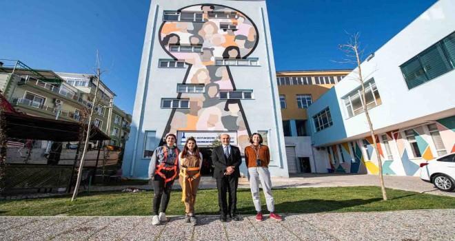 Başkan Soyer Örnekköy Sosyal Projeler Yerleşkesi'ni ziyaret etti