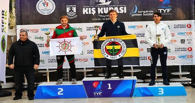TYF Kış Kupası'nda Karşıyaka yelkende 6 kupa aldı…