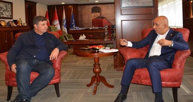 Başkan Tugay'ı vekil Polat ziyaret etti