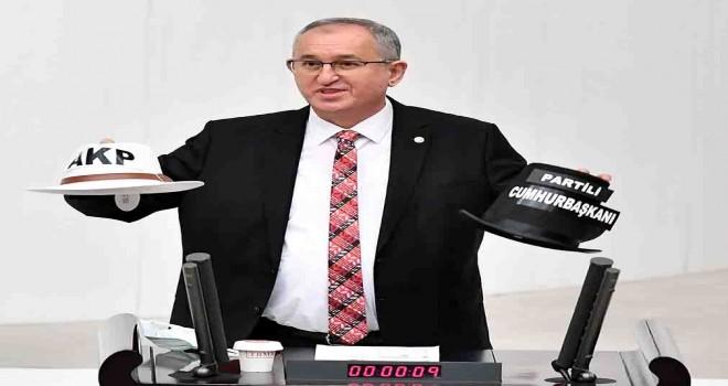 CHP'li Sertel'den şapkalı muhalefet