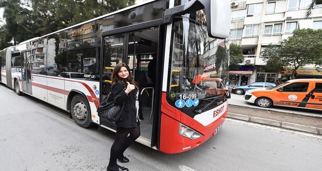 İndirimli toplu ulaşım hizmetinin saati arttı