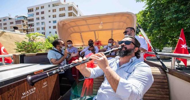 İzmirli müzisyenler Bostanlı İskelesi'nde sahne alacak