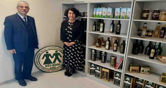 CHP'li Beko, İzmir Köy-Koop Birliği Başkanı Neptün Soyer'i ziyaret etti