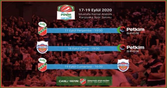 Pınar Cup 2020'de geri sayım...