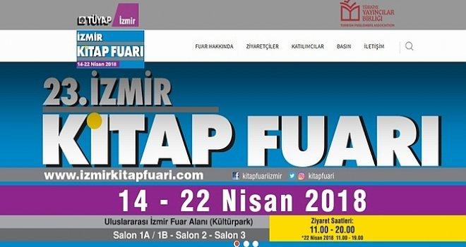 23.İzmir Kitap Fuarı etkinlik programı belli oldu