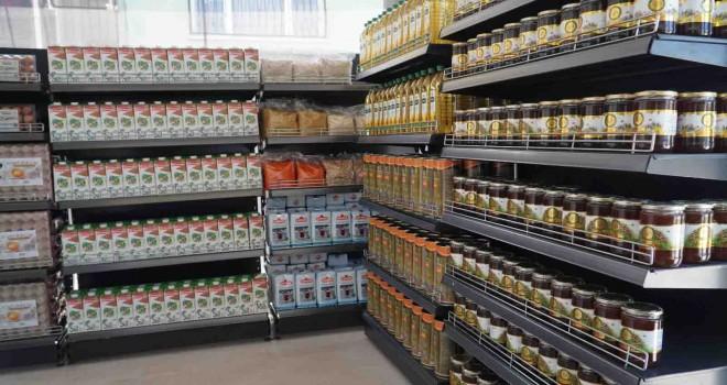 Kooparatif ürünleri Kent marketlerde buluştu
