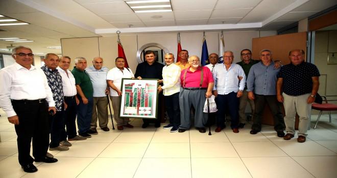 KARSAD yönetiminden Başkan Tugay'a ziyaret