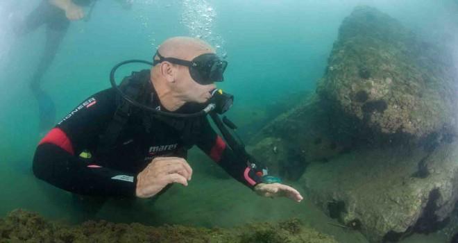 Başkan Soyer su altında: Müsilajdan eser yok, Körfez'de yüzme hedefine yaklaşıyoruz