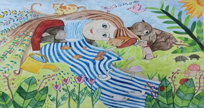 Uluslararası Pınar Çocuk Resim Yarışması'nın kazananları belli oldu