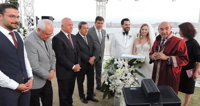 CHP Başkanı Serdar Koç'un kızı evlendi..