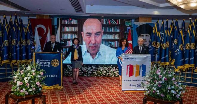 Başkan Soyer'e Rotary Meslek Hizmet Ödülü
