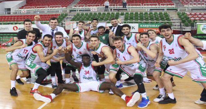 Pınar Karşıyaka'nın gençleri Final-Four'da