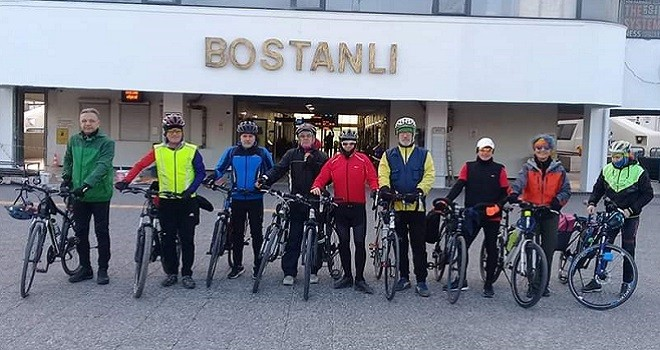 Bostanlısporlu Bisikletçiler bu pazar Belevi Gölü'ne gidiyor