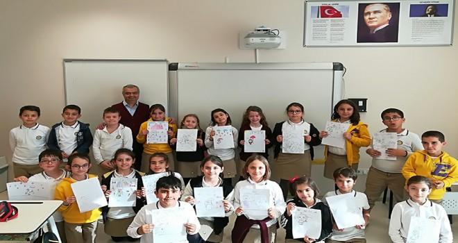 Öğrenciler karikatürü çok sevdi