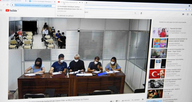 Karabağlar Belediyesi ihaleleri canlı yayınlanıyor