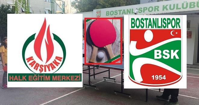 Karşıyaka Masa Tenisi Bahar Turnuvası yarın yapılacak