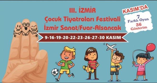 3. İzmir Çocuk Tiyatroları Festivali Başlıyor