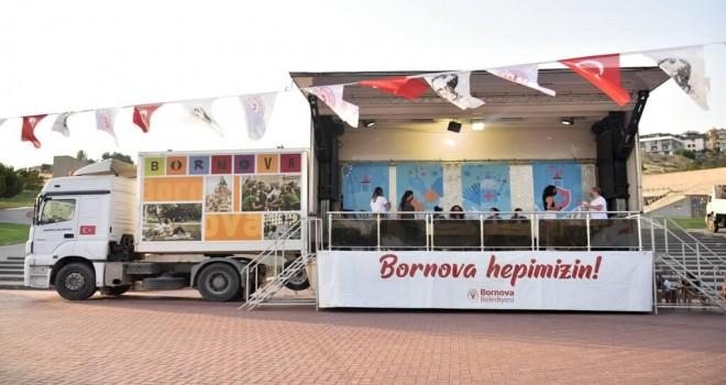 Bornova'da Etkinlik Tırı yola çıktı