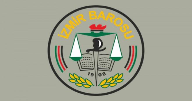 İzmir Barosu'ndan ''30 Ağustos'a yasak'' tepkisi