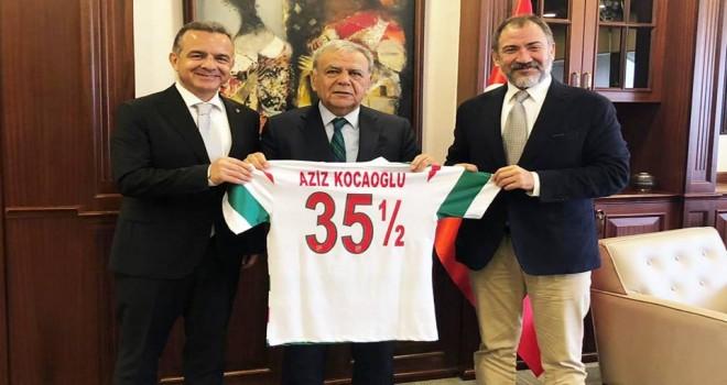 KSK'nin tesis projesine İzmir Büyükşehir Belediyesi katkısı