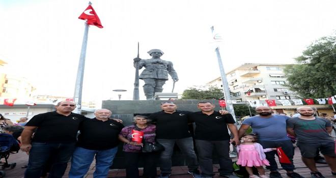 Karşıyaka'da Bombacı Ali Çavuş unutulmadı