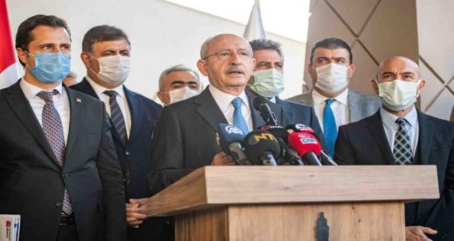 CHP Genel Başkanı Kılıçdaroğlu deprem sonrası çalışmalarını değerlendirdi