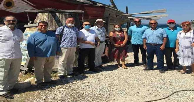 İzmir Kent Konseyleri Birliği Yürütme Kurulu Urla'da toplandı
