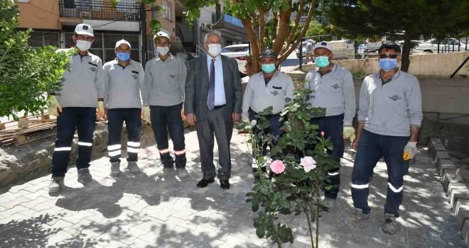 Başkan Selvitopu ekipleri tek tek ziyaret etti