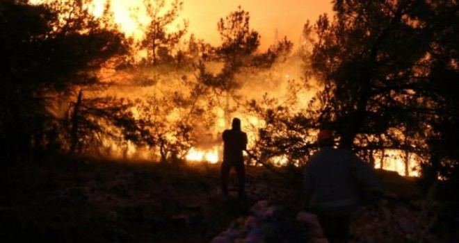 İzmir'de yangın sayısı yüzde 40 arttı