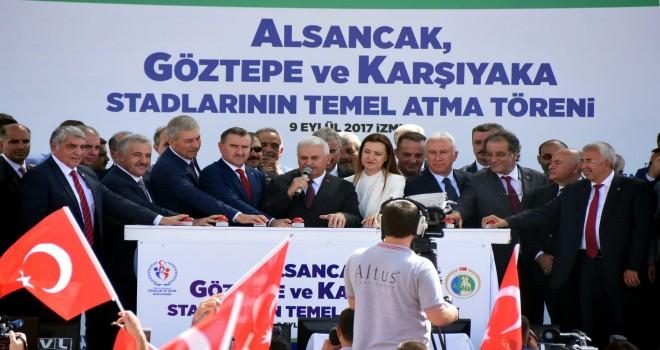 CHP'li Sertel sordu Bakan Kasapoğlu yanıtladı: Stadyumun yüzde 60'ı bitti