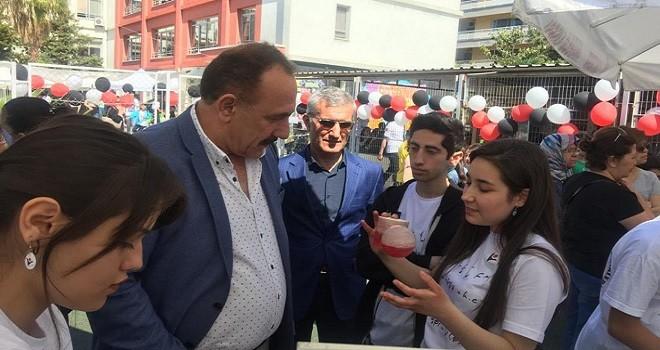 Cihat Kora Anadolu Lisesi'nde TUBİTAK 4006 Bilim Fuarı yapıldı