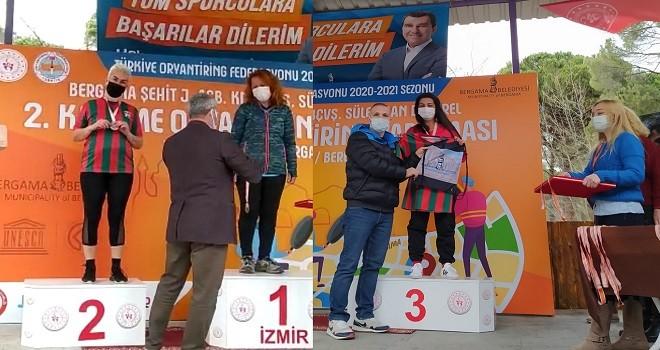 Bostanlıspor'a Oryantiring Türkiye Şampiyonası'nda 3 madalya…