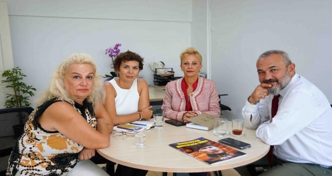 İzmir Barosu Başkanı Av. Yücel'den Gappi'ye ziyaret