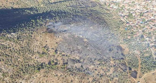 İzmir ve Manisa'da 182 orman dışı, kırsal  yangına müdahale edildi
