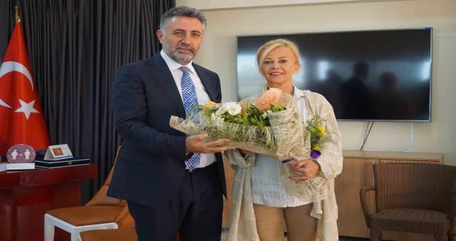 Başkan Sandal'dan İGC'ye ziyaret