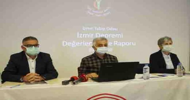 İzmir Tabip Odası İzmir Depremi Değerlendirme Raporu hazırladı