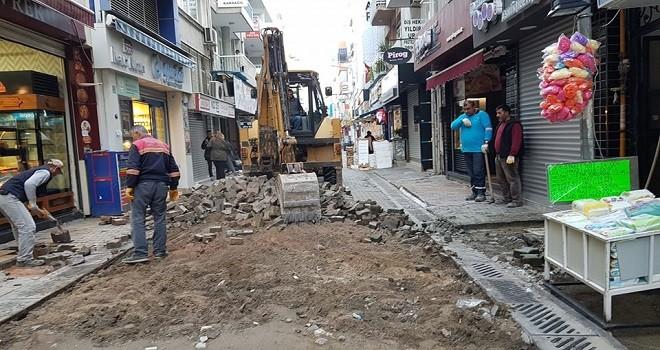 Eshot Sokağı yenileniyor