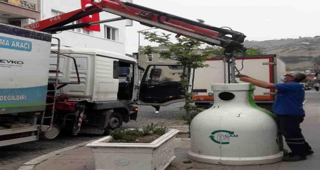 Bergama'da bir ay içinde 11 ton atık şişe toplandı