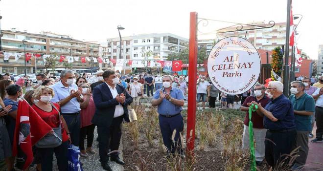 Karşıyaka'da Ali Çelenay Parkı hizmete açıldı